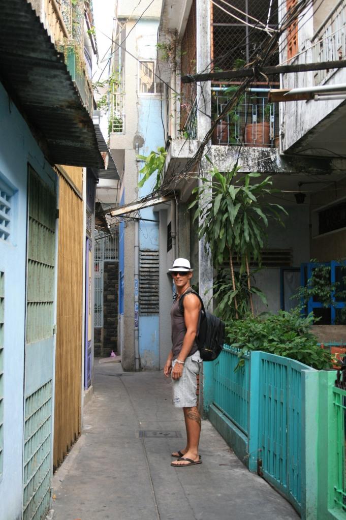 Saigon alleys