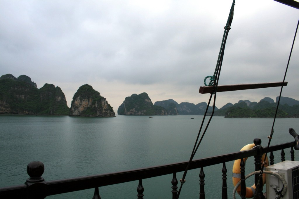 Dazzled, then a bit disgusted: Halong Bay