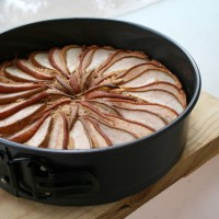 Autumn in Brisbane, and Spiced Pear Cake