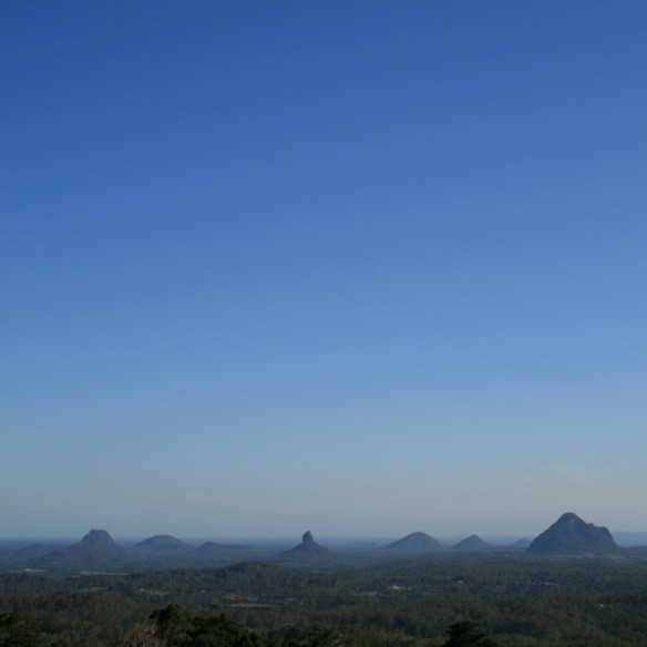 Glasshouse Mountains