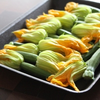 How to cook courgette flowers
