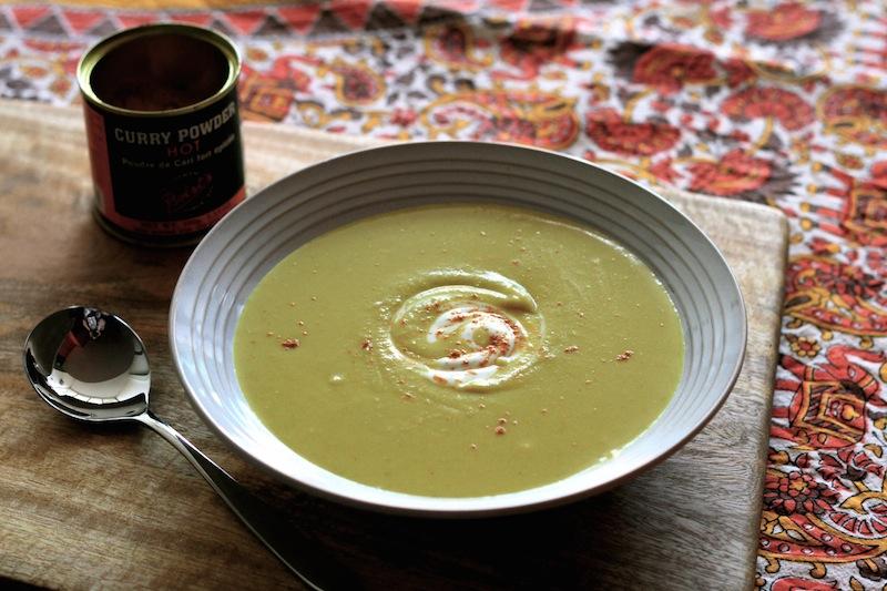 Alison Holst's curried kumara (sweet potato) soup