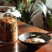 Orange & Pistachio Granola