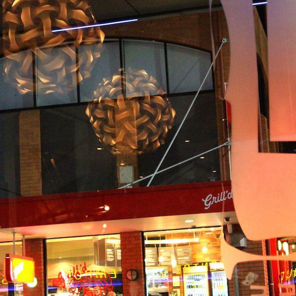 Inside Glass Bar, Brunswick St, Brisbane
