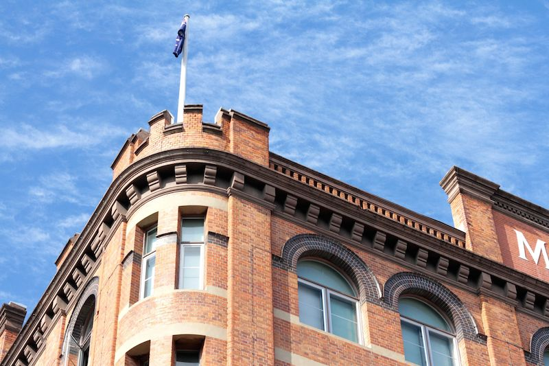 The McWhirters building in Fortitude Valley