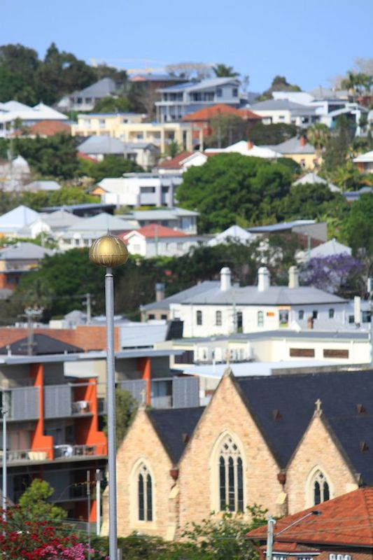 Looking towards Newstead, Brisbane