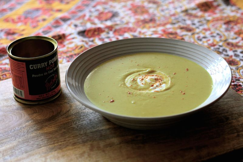 Alison Holst's famous Curried Kumara Soup