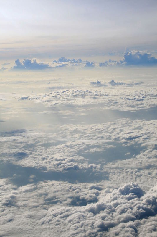 Cloud-scape over the Pacific