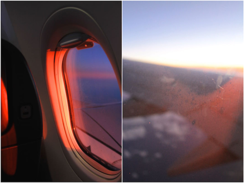Condensation and sunset, May 2014_Fotor_Collage