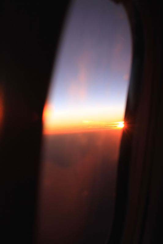Heading home from Perth, Nov 2014