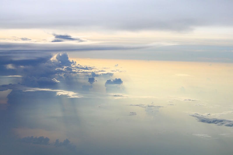 Surreal cloud-scape, not far from Bangkok