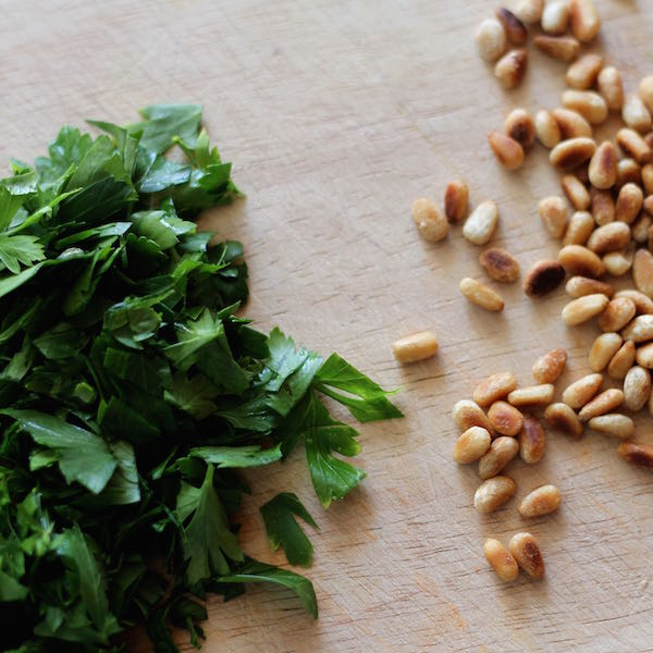 March 2014 - Parsley and pinenuts with Macro lens