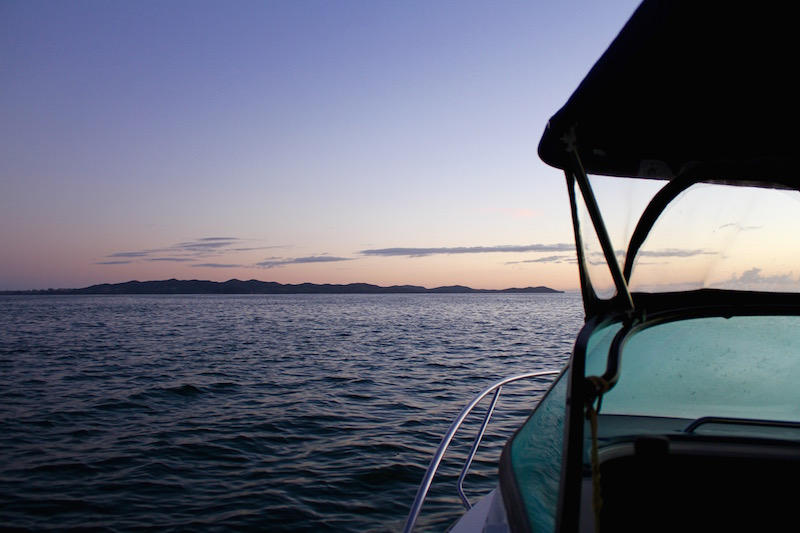 Fishing at dawn - Doubtless Bay, Far North, New Zealand