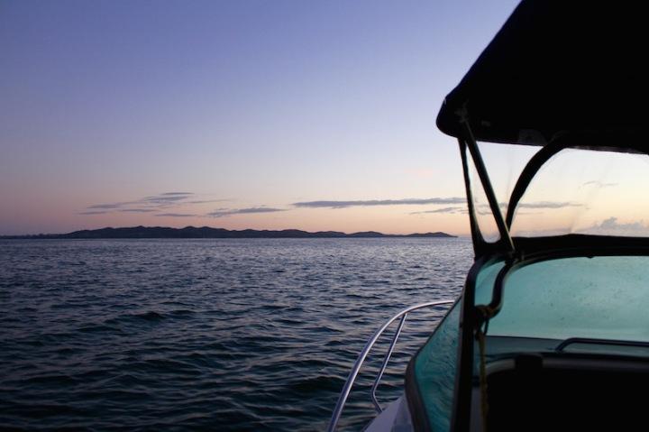Fishing at dawn - Doubtless Bay, Far North, New Zealand