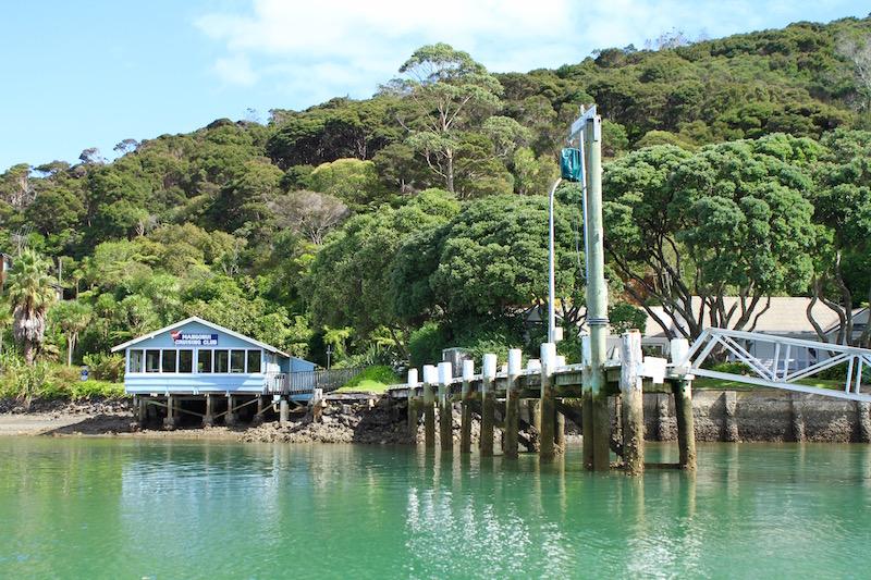 Mill Bay wharf