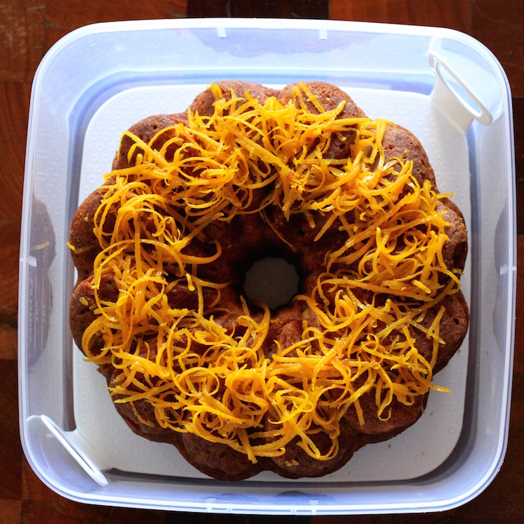 The Month of Cake - Orange, Yoghurt and Semolina Cake 2
