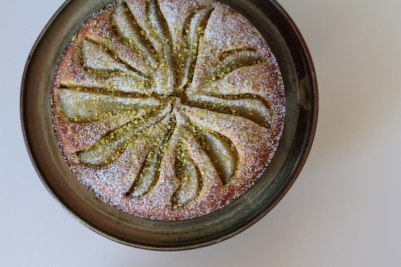 The Month of Cake - Pear and Pistachio Cake2