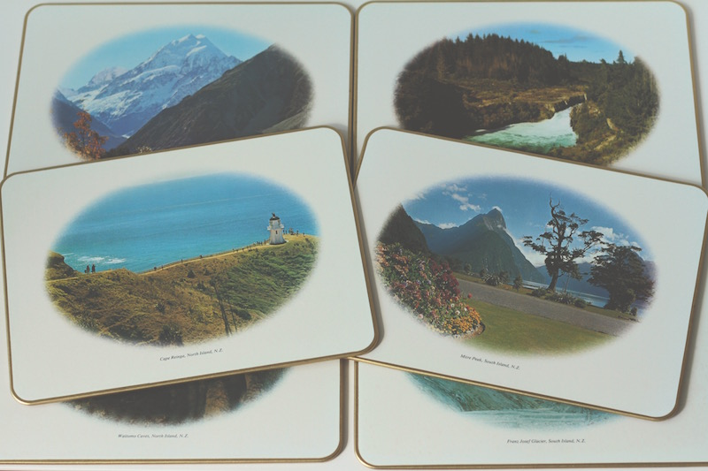 Retro Jason's Placemats - New Zealand landmarks