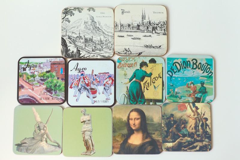 Vintage coasters