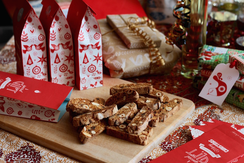 Cantuccini for Homemade Christmas gifts