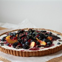 Christmas Breakfast: Summer Celebration Tart