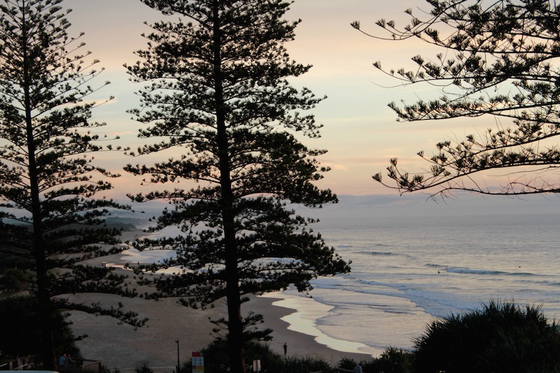 Weekend away at Coolum Beach. Sunrise on day two