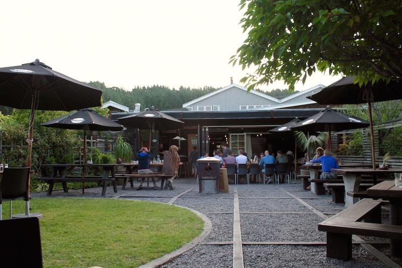 At dusk - Leigh Sawmill Cafe, Matakana Coast, NZ