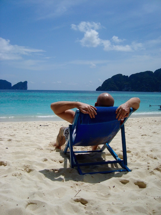 Tropical holiday in Phi Phi Islands, Thailand 2010
