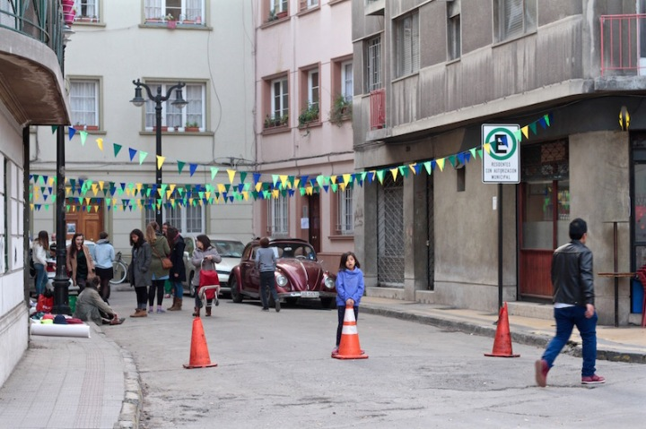 Barrio market, Santiago de Chile