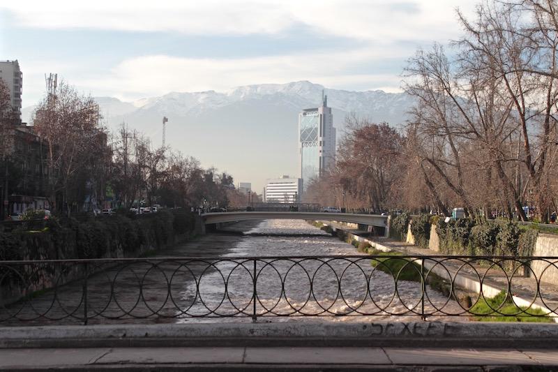 Mapocho River, Santiago de Chile