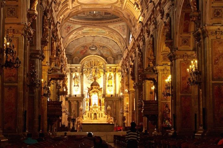 Metropolitan Cathedral, Plaza de Armas, Santiago de Chile