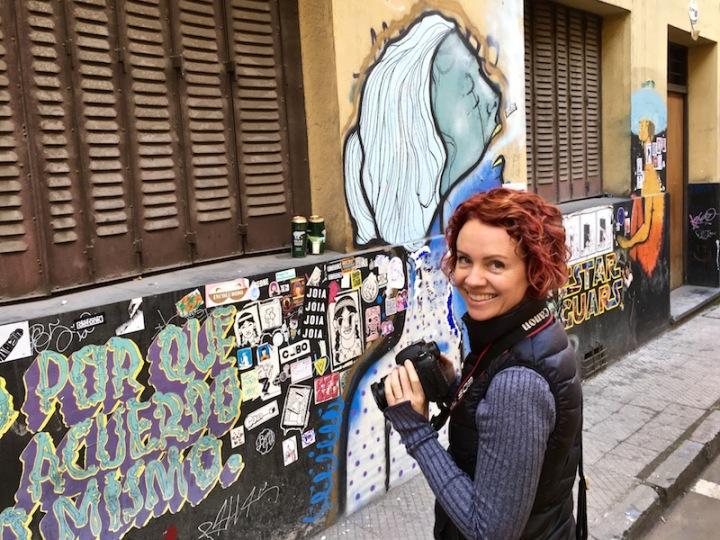 Santiago street art June 2016