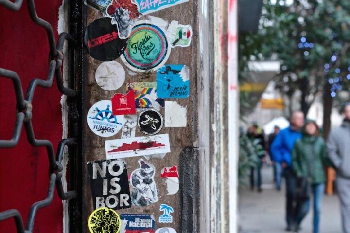 Street scene, Merced, Santiago de Chile