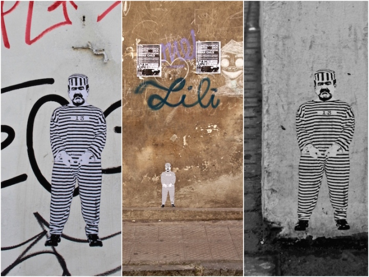 The Usual Suspects collage, Santiago de Chile