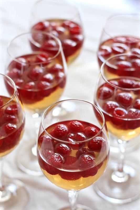 Fresh Raspberry & Chardonnay Jelly