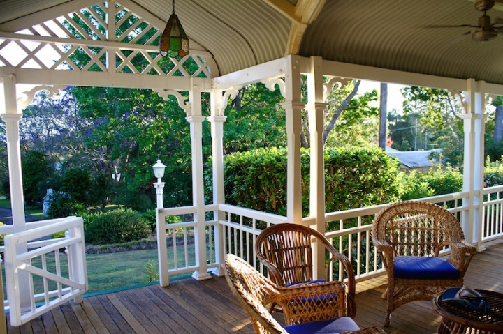 Beautiful Queensland verandah