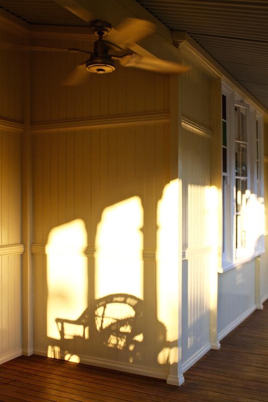Sun and shadow, Sunshine Coast hinterland October 2016