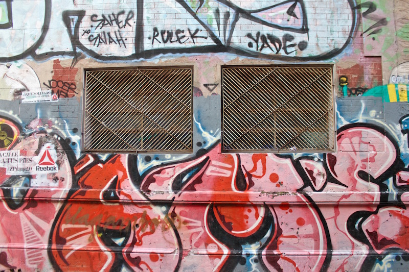 Graffiti art in Palermo Soho, Buenos Aires