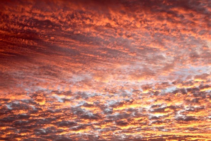 Beautiful sunrise, September 2016
