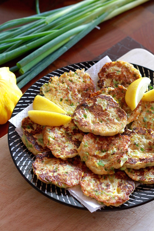 Delicious Courgette and Ricotta Fritters