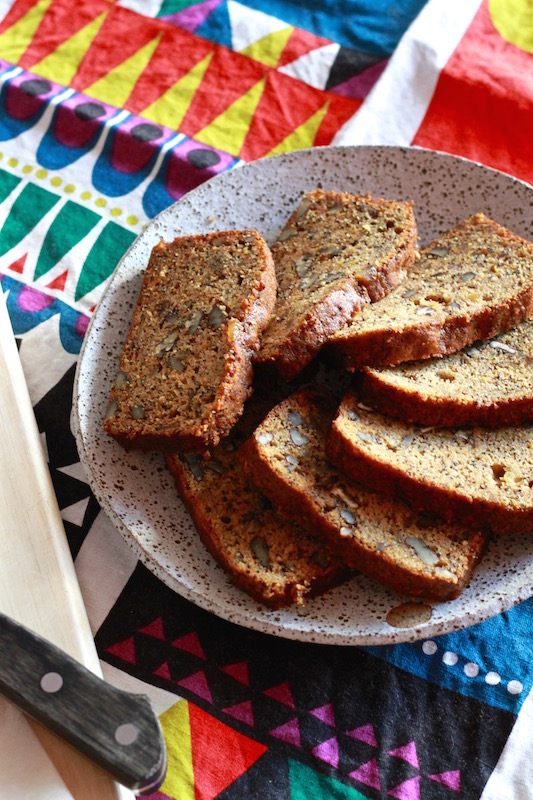 Special Spiced Courgette Loaf