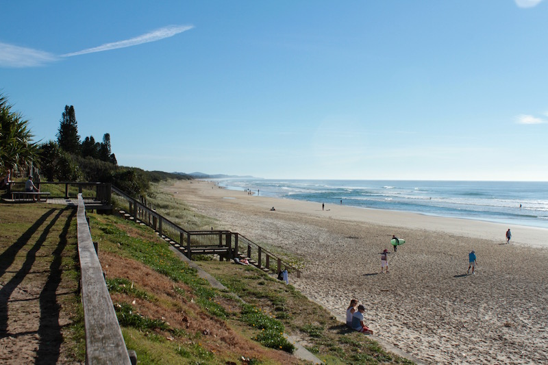Coolum Beach on the Sunshine Coast, Queensland Australia