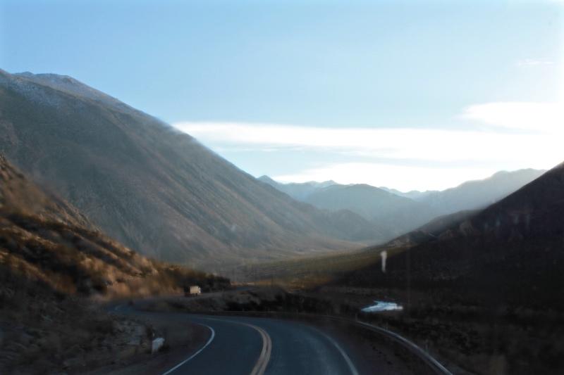 Travelling from Mendoza to Valparaiso