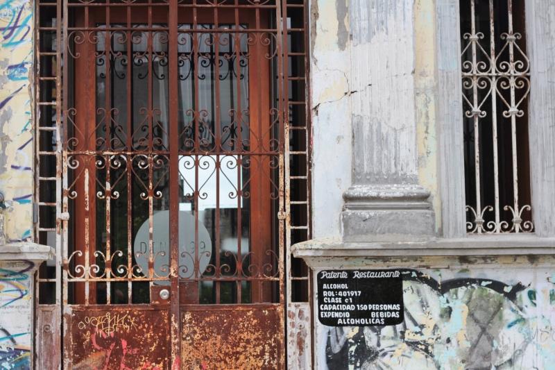 Rusty gate, Valparaiso Chile