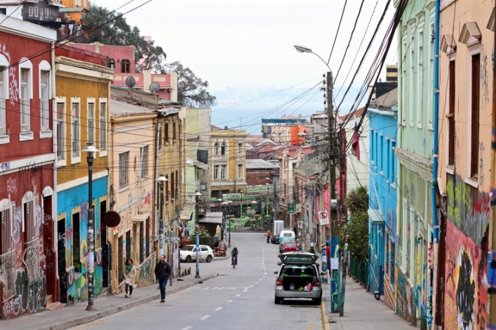 Beautiful Valparaiso, UNESCO World Heritage site