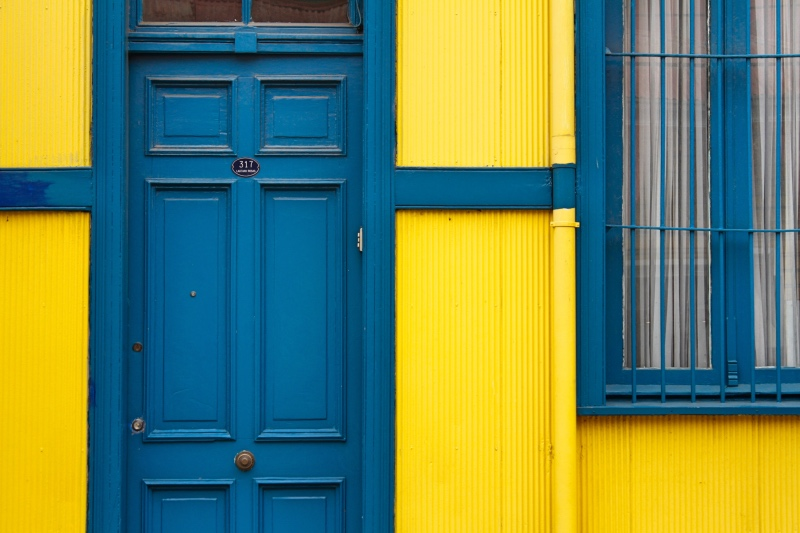 The Yellow House, Valparaiso