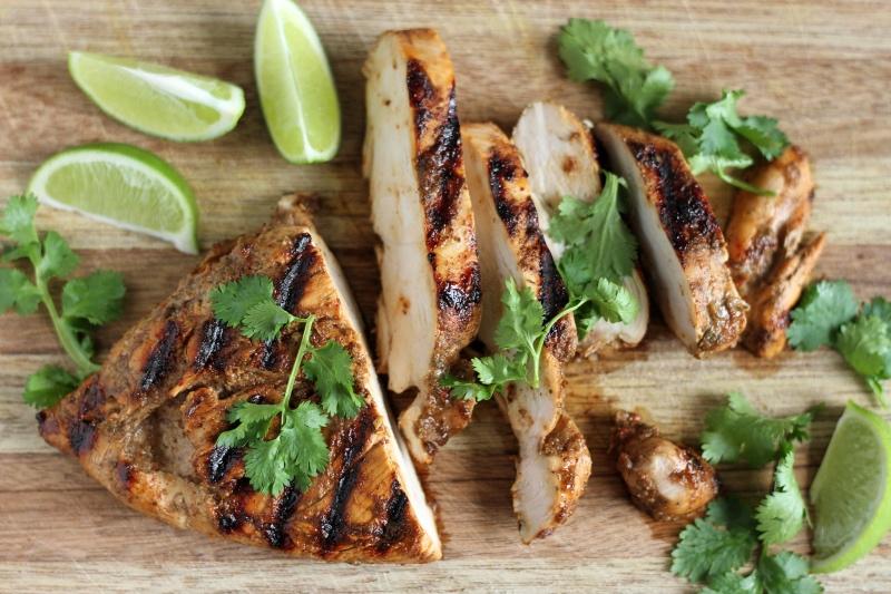 Jamaican food - classic Jerk Chicken