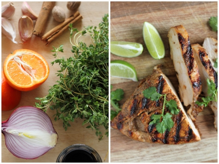 Delicious, fragrant and spicy Jerk Chicken